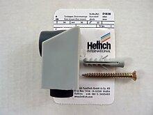 Hettich Türstopper Bodenmontage, silber, 30/30 mm, H: 56 mm, 1 Stück, Artikelnr. 51836