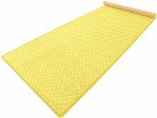 HEVO Vorwerk Bijou Petticoat gelb Teppich |