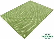 HEVO Vorwerk Bijou Petticoat grün Teppich |