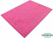HEVO Vorwerk Bijou Petticoat pink Teppich |