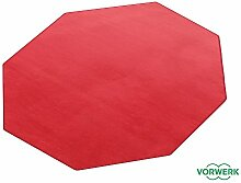 HEVO Vorwerk Bijou rubinrot Teppich | Spielteppich