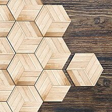 Hexagon Aufkleber, selbstklebende Boden