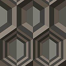 Hexagon Tapete