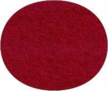 Hey Sign - Filz-Auflage Serie 7 Stuhl, rot 5mm AR