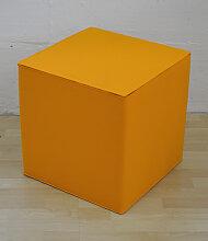 Hey-Sign Quart Sitzwürfel (45x45x45cm)- orange -