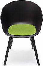 Hey-Sign Sitzauflage About a chair, Maigrün 30