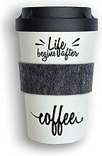 heybico Coffee to go Becher aus Pflanzen