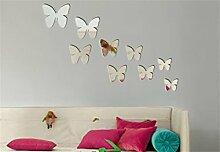 HEYING Set von 9Lovely Butterfly Wandspiegel