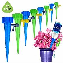 Heyjewels 12 Stück Automatisch Bewässerung Set