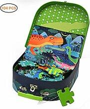 Heylas Spiele Puzzle Dinosaurier Puzzle-Box im