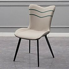 HFDXG Essstühle Schmiedeeisen Dining Chair