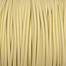 HFS Spezialitäten fabcabtiswhtrnd Stoff geflochten rund Kabel–Kräutertee grün