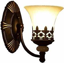 HFY-D Europäische Retro Wandlampe, antike