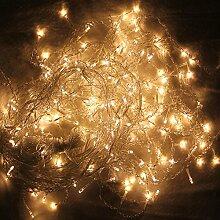 HG® 10m 200 LED Eisregen Lichternetz Lichterkette