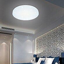 HG® 12W LED Deckenleuchte Weiß rund Badleuchte