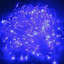 HG® 20m 600 LED Eisregen Weihnachtslichterkette