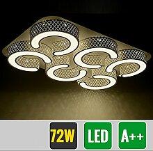 HG® 72W LED Deckenlampe Markantes Design