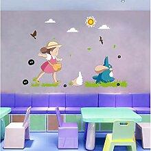 HGFJG Wandaufkleber Kinderzimmer Tapete