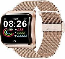 HGHUA 68 Smartwatch Laufuhr Damen Fitnessuhr