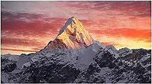 HGLLL Berg im Sonnenuntergang Poster und Drucke