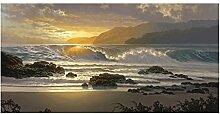 HGLLL Sea Wave Seascape Modernes Bild