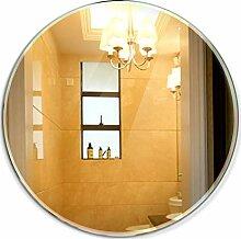 HGXC Badezimmerspiegel, runder an der Wand