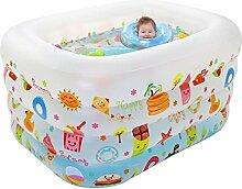 HHBO Kinder aufblasbare Schwimmbecken mit faltender Badewanne im Freien Spiel-Pool-Wanne , 1#
