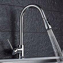HHCUIJ Wasserhahn Ausziehbare Küchenarmatur