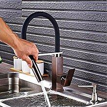 HHCUIJ Wasserhahn Bad Küchenarmatur Einhebel Deck