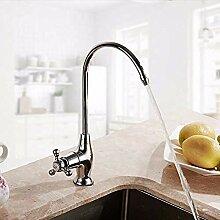 HHCUIJ Wasserhahn Durable Einfache Küchenarmatur