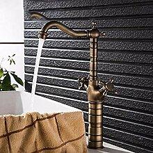 HHCUIJ Wasserhahn Heimwerker Bad Wasser Antik
