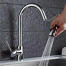 HHCUIJ Wasserhahn herausziehen Küchenarmatur