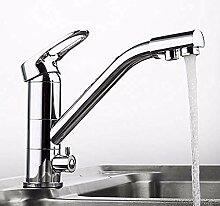 HHCUIJ Wasserhahn Küchenarmatur Deck montiert