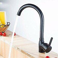 HHCUIJ Wasserhahn Moderne Einhand-Küchenarmatur