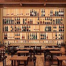 Hhcyy 3D Tapete Tapete Western Restaurant Bar
