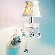HhGold Crystal Wandleuchte Spiegel Kristall