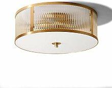 HhGold Deckenleuchte Kupfer Lampe Wohnzimmer Lampe