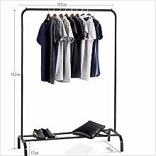 HhGold Garderobe Kleiderbügel Kleiderstange