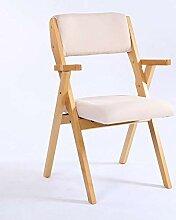 HhGold Holzklappstuhl Casual Tuch Stuhl Modern