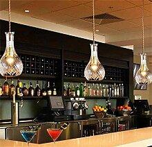 HhGold Retro Moderne Lampe Minimalistischen,