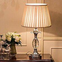 HhGold Schlafzimmer Kristall Lampe Klassische