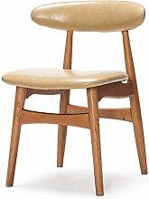 HhGold Skandinavische Retro-Stühle, einfache