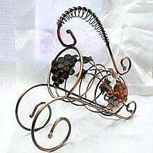 HhGold Wahrzeichen Bronze Weinregal Weinregal sehr