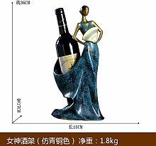 HhGold Wein im europäischen Stil, Weinregal,