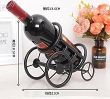 HhGold Weinregal, Haushaltseisenflaschenständer