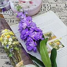 hhkhhgjo 4 Stücke Künstliche Hyazinthe Violette