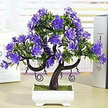 hhkhhgjo Dekoration Zubehör Künstliche Pflanzen