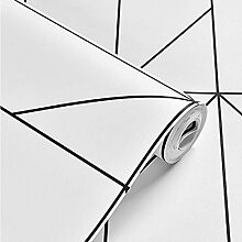 HHKX100822 Tapete 3D Modern Abstract Geometric