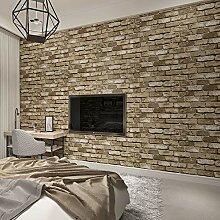 HHKX100822 Tapete 3D Modern Vintage Brick
