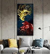 HHLSS Wunderschönes Bild 60x120cm Rahmenlos